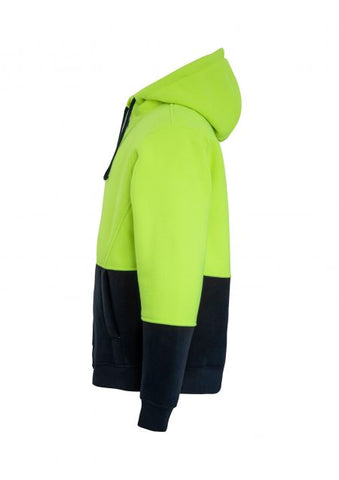 Rainbird Taylor HiVis Hoodie with Sherpa Fleece Lining