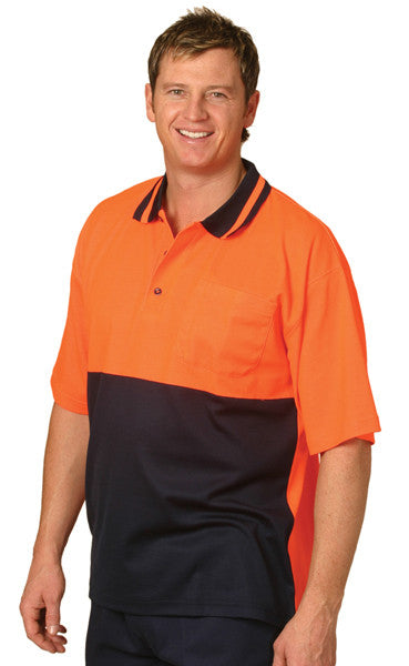 AIW Hi Vis Truedry Cotton Backed Polo