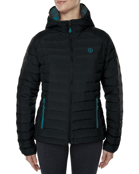 Ladies Vigilante Tastrack Down Jacket with Imbac Lodge Embroidered Logo