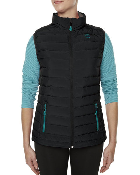 Ladies Vigilante Gearshift Down Vest with Imbac Lodge Embroidered Logo
