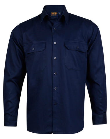 AIW Cotton Drill Long Sleeve Shirt