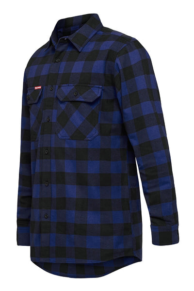 Hard Yakka Check Flannel Long Sleeve Shirt