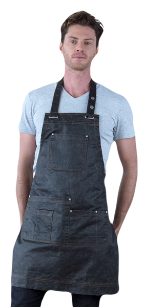 Aussie Chef Barber Length Look Apron