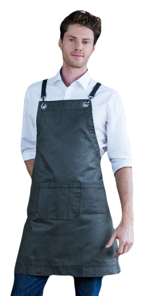 Aussie Chef Outback Waxed Finish Bib Apron