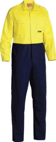 Bisley HiVis Two Tone Coveralls