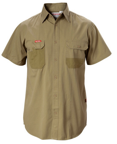 Hard Yakka Duck Weave Short Sleeve Shirt