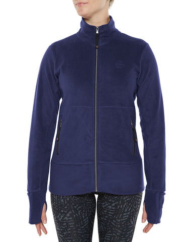 Vigilante Ladies Double Velour Fleece Jacket