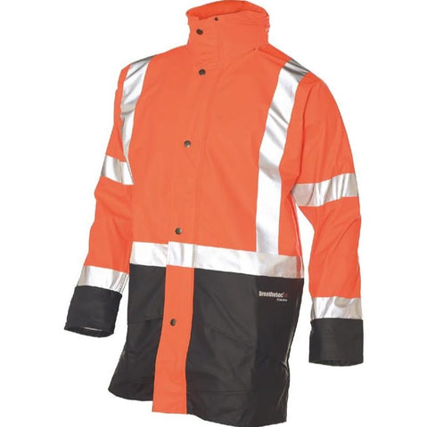 Huski Farmers Hi-Vis Waterproof Jacket