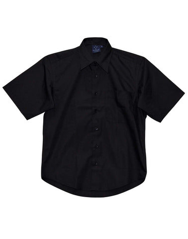 Winning Spirit Mens Executive Teflon Coated S/S Shirt