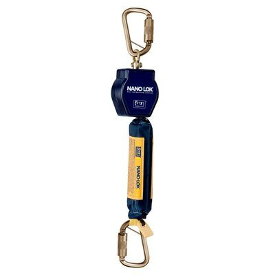 3M™ DBI-SALA® Nano-Lok™ Single Leg SRL w/Triple Action Carabiner Connector
