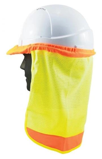 HiVis Hard Hat Neck Flap