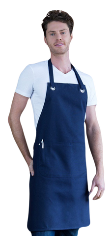 Aussie Chef Full Bib Canvas Apron