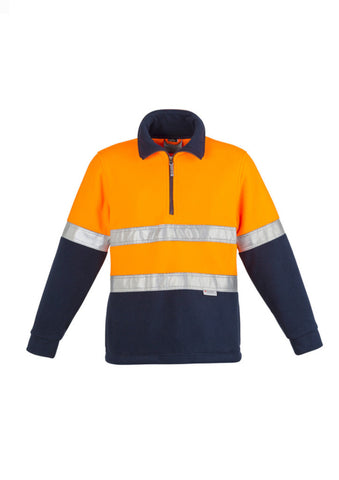 Syzmik HiVis Polar Fleece Jumper With Tape