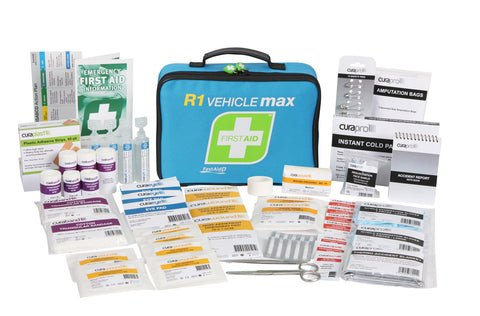 FastAid R1 Vehicle Max First Aid Kit (Soft Pack)