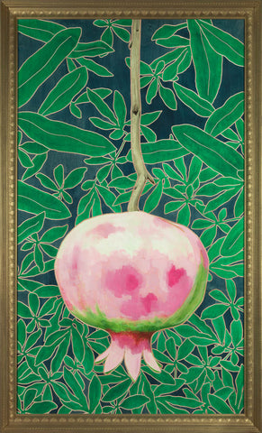portrait of a pomegranate, Scott Moore Sydney Francis