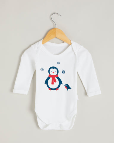 Penguin Long Sleeve Bodysuit
