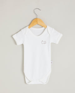 Hippo Short Sleeve Bodysuit