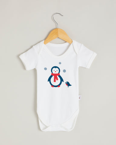Penguin Short Sleeve Bodysuit