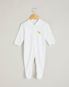 Yellow Puppy Sleepsuit