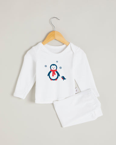 Penguin Long Sleeve Lounge Set