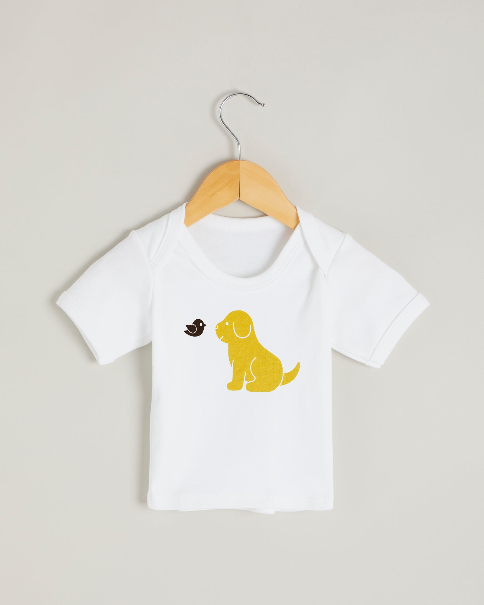 Yellow Puppy Short Sleeve T-shirt