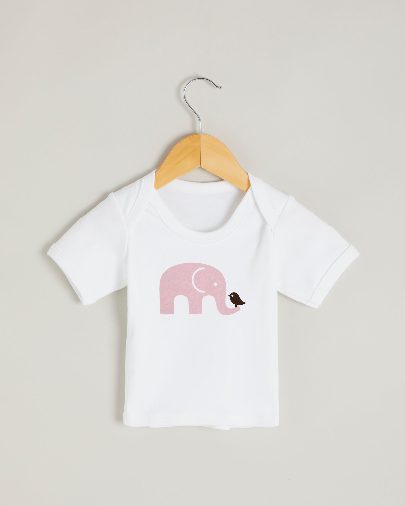 Pink Elephant Short Sleeve T-shirt