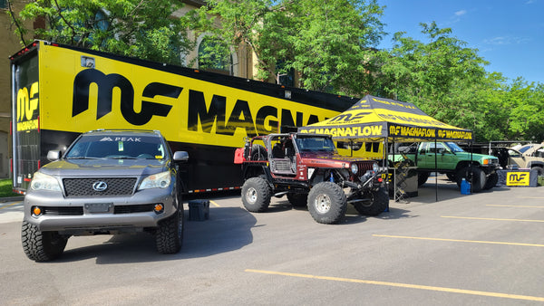 MagnaFlow Rig at Outside Adventure Expo 2021
