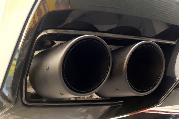 C8 Exhaust Tips