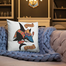 "Load image into Gallery viewer, Guzman Oralé Premium Pillow (18""x18"")"