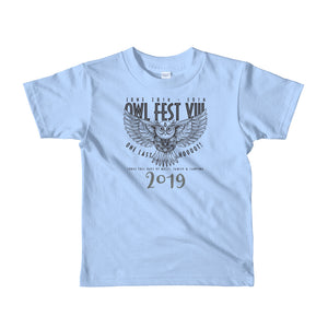 Owlfest Short sleeve kids t-shirt