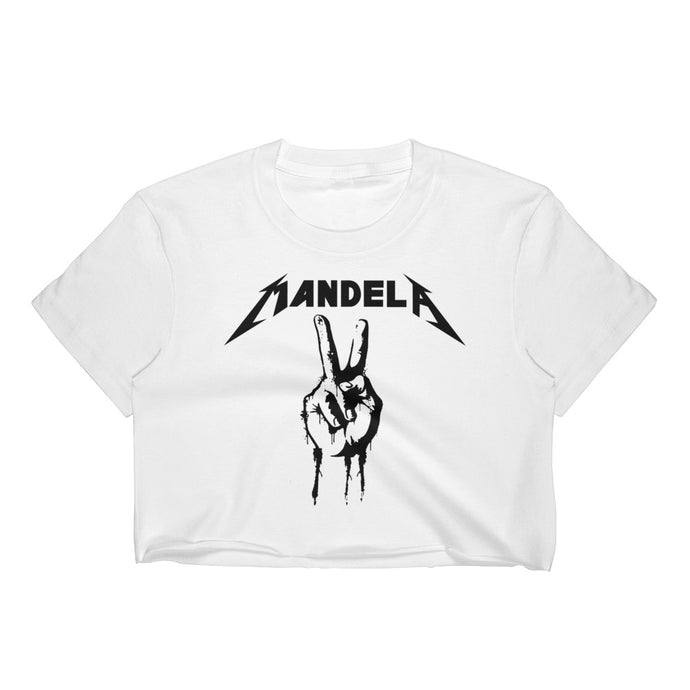 Mandellica Women's Crop Top