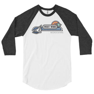 West Wind 3/4 sleeve raglan shirt