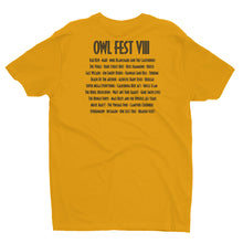 Load image into Gallery viewer, Owlfest Short Sleeve T-shirt