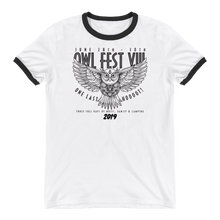 Load image into Gallery viewer, Owlfest Ringer T-Shirt
