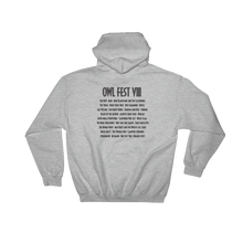 Load image into Gallery viewer, Owlfest Hooded Sweatshirt