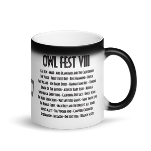 Owlfest Matte Black Magic Mug