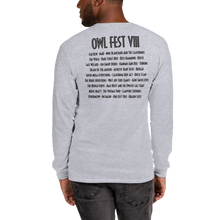 Load image into Gallery viewer, Owlfest Long Sleeve T-Shirt