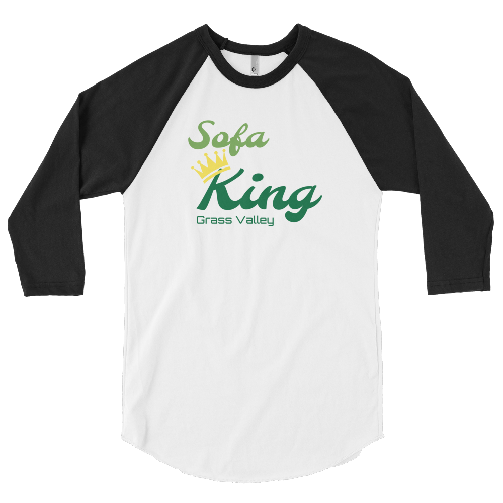 Sofa King GV 3/4 sleeve raglan shirt