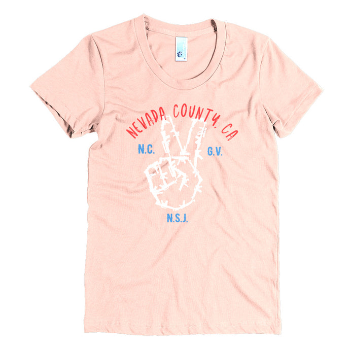 Peace Maker Women's Crew Neck Tee
