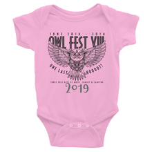 Load image into Gallery viewer, Owlfest Infant Bodysuit