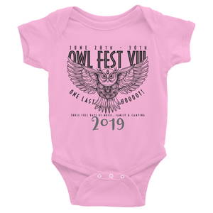 Owlfest Infant Bodysuit
