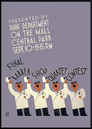 Final barber shop quartet contest