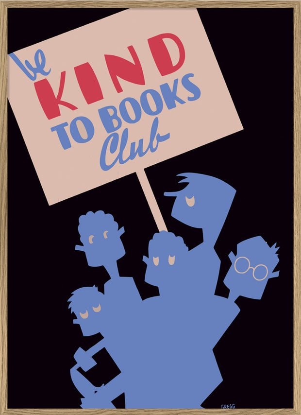Be kind to books club