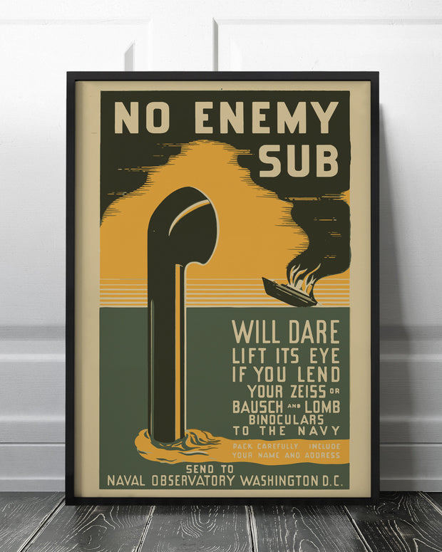 No Enemy Sub