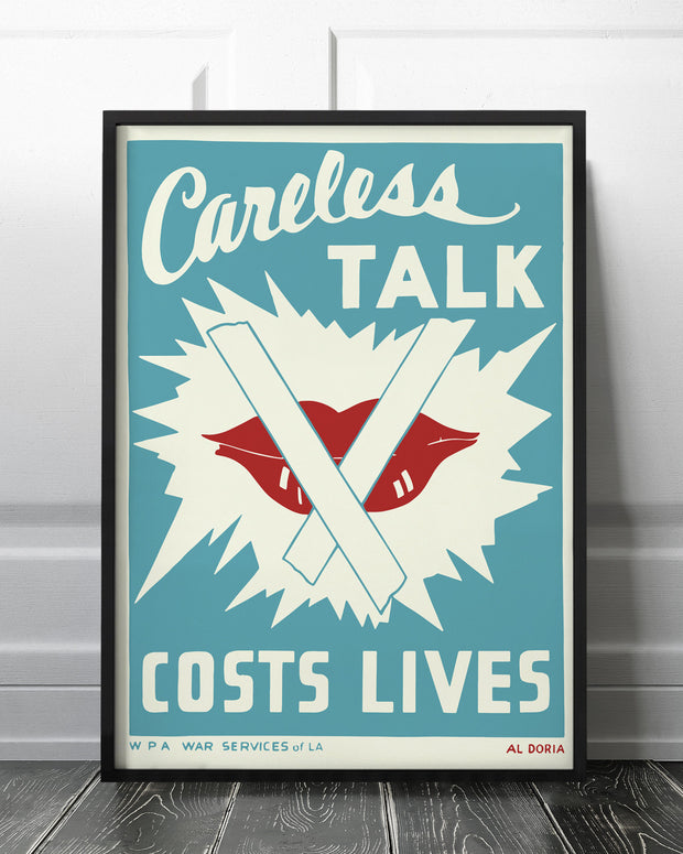Careless talk - costs lives