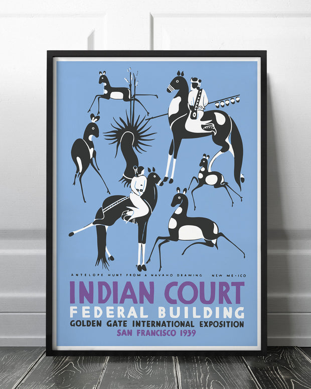 Indian court - federal building