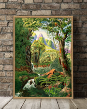 Jungle Scenery #6100