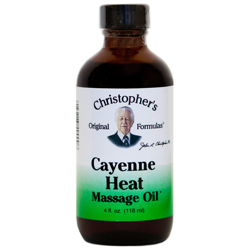 Cayenne Heat Massage Oil