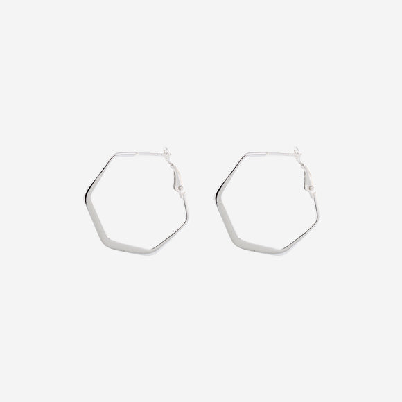 Flat Hexagon Hinged Hoops