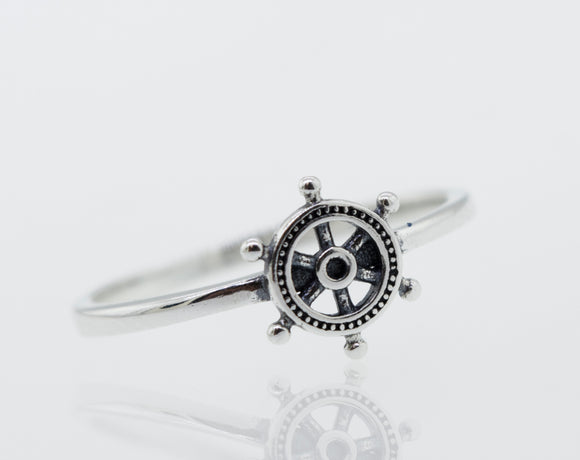 Silver Helm Ring